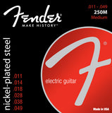 Fender Super 250's Nickel Plated Steel Strings