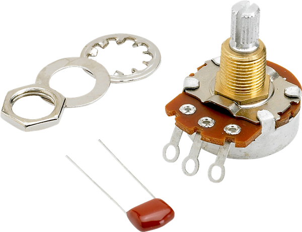 Fender 500K Split Shaft Potentiometer (Vol or Tone)