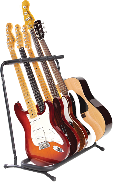 Fender Multi Stand 5 Guitars