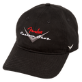 Fender Custom Shop Baseball Hat, Black, One Size Fits Most