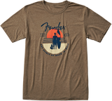 Fender Sunset Spirit T-Shirt, Olive, L