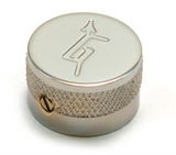 "Gretsch Knob, Electromatic Series, ""G"" Logo, Chrome"