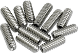 Fender American Vintage Stratocaster®/Telecaster® Bridge Saddle Height Adjustment Screws (12) (Nickel)