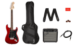 Affinity Series™ Stratocaster® HSS Pack, Laurel Fingerboard, Candy Apple Red, Gig Bag, 15G - 120V