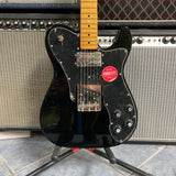 Fender Classic Vibe '70s Telecaster Custom, Maple Fingerboard, Black