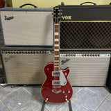 Gretsch G5220 Electromatic Jet BT Single-Cut with V-Stoptail, Laurel Fingerboard, Firestick Red