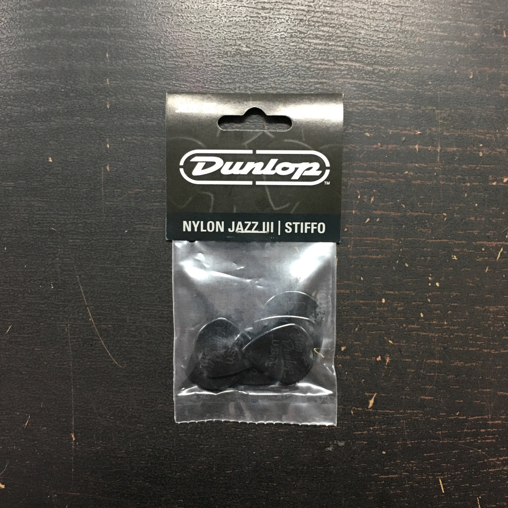 Dunlop Nylon Jazz III Picks