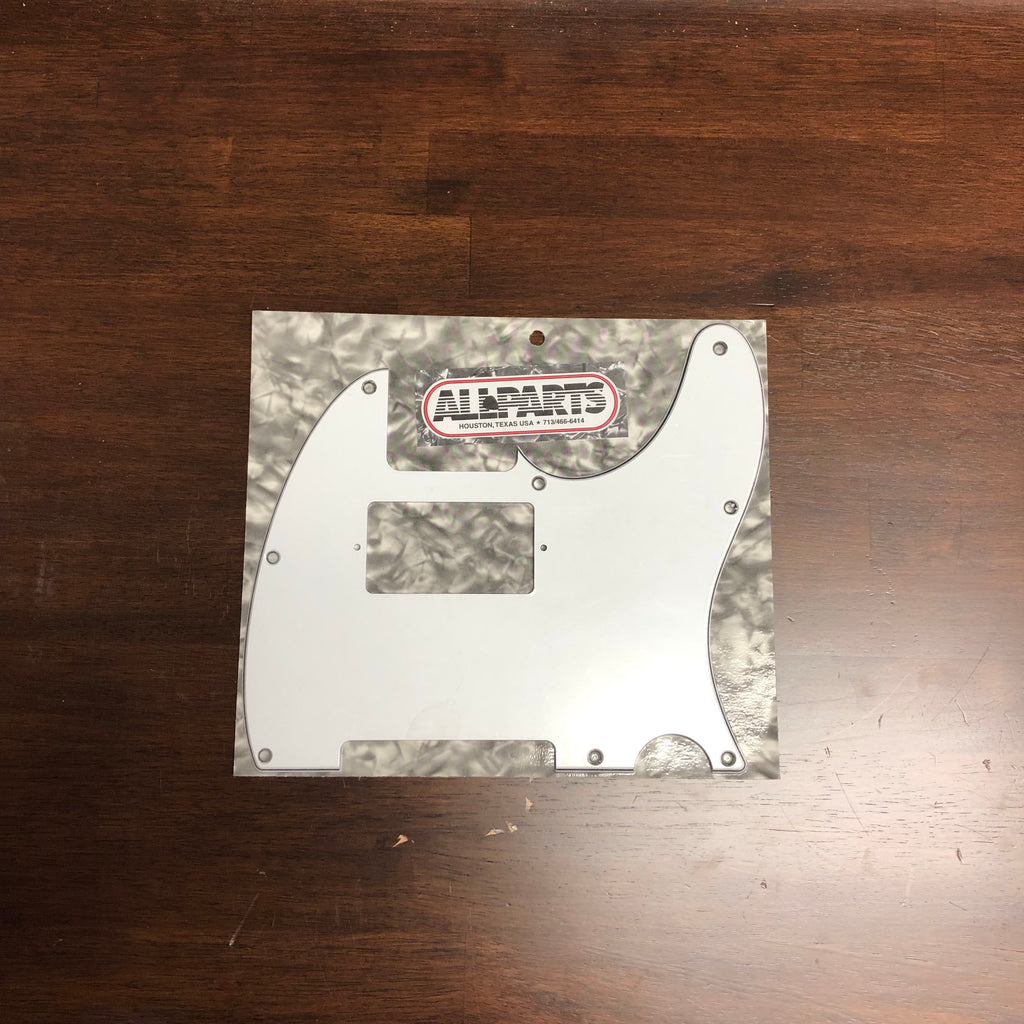 Allparts White Humbucking Pickguard for Telecaster