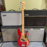 Fender Vintera '50s Precision Bass, Maple Fingerboard, Dakota Red