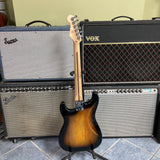 Squier Bullet Stratocaster HT HSS, Laurel Fingerboard, Brown Sunburst
