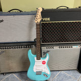 Squier Bullet Stratocaster HT, Laurel Fingerboard, Tropical Turquoise