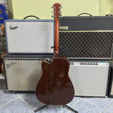 Yamaha A1R Electric Acoustic Guitar, Vintage Natural