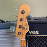 Fender American Professional II Jazz Bass, Maple Fingerboard, Roasted Pine