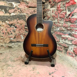 Cordoda C4-CE Edge Burst Classical Guitar