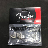 Fender American Standard Stratocaster® Bridge Saddles ('08-Present), Nickel, Set