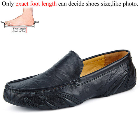 Casual Men Leather Shoes Boat Man's shoe Loafers Mocassin Men's loafer Man Slipons Moccasins Hot Sale Driving Brand Desinger