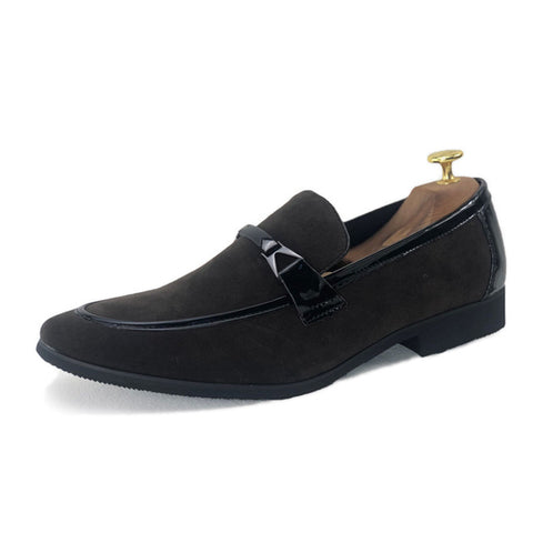 Plus size Men's Suede leather Loafers Shoe classic Moccasins Mens Leather Casual Outdoor Driving Flats Shoes