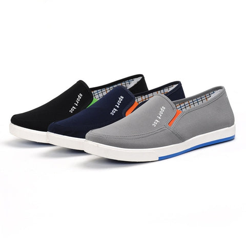 2020 Men Shoes Platform Canvas Man Vulcanize Sneakers High Quality Brand Design Office Drive Four Seasons Shoes Cozy Breathable