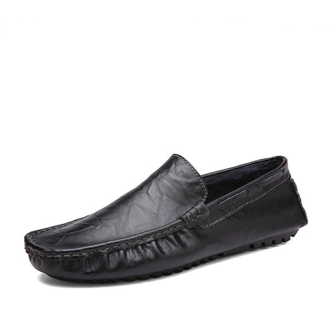 2017 Sperry Male Loafers - Genuine Leather -  Slip On Casual - Square Toe - Men's Shoe Mall