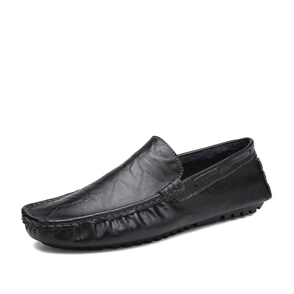 2017 Sperry Male Loafers - Genuine Leather -  Slip On Casual - Square Toe