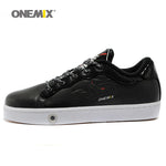 ONEMIX Low top shoes classic Unisex leather skateboarding shoes men's sport sneakser Autumn & Winter boy shoesl - Men's Shoe Mall