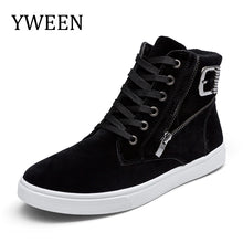YWEEN New Arrival Men Casual Boots Man Autumn Ankle Boots Men's Casual Shoes