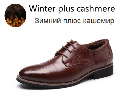 PHLIY XUAN 2017 Man Flat Classic Men Dress Shoes Genuine Leather Wingtip Carved Italian Formal Oxford Plus Size For Winter