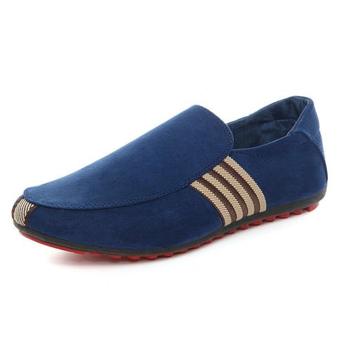 Ventilation Men Casual Canvas  Red Bottom Shoes Loafers High Quality Italy Brand Design Man Casual Peas Shoes Pumps  Classic - Men's Shoe Mall