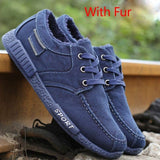 Men Casual Shoes Canvas Shoes For Men Chaussure Homme Autumn Winter Warm Breathable Shoes Men Fashion Sneakers Man Walking Shoe - Men's Shoe Mall