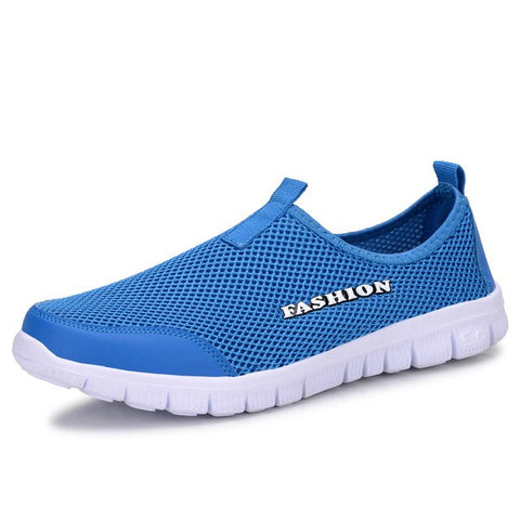 2019 Brand Running Shoes Men Socks Sneakers Sport Athletic Breathable Mesh Trainers Man Comfortable Super Light Slip-on Loafers