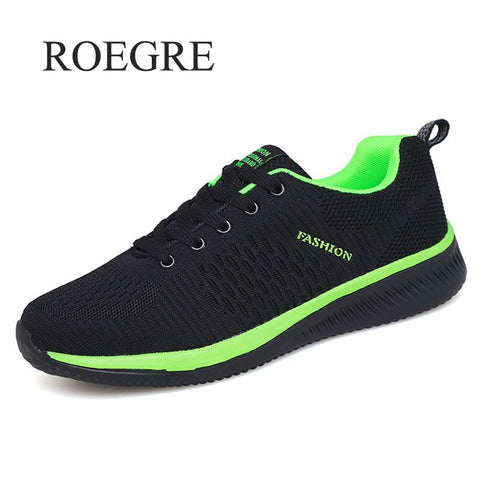 2019 New Mesh Men Casual Shoes Lac-up Men Shoes Lightweight Comfortable Breathable Walking Sneakers Tenis Feminino Zapatos - Men's Shoe Mall
