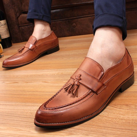 2017 England mens shoes - casual - Tassel dress shoes