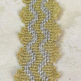 antique gold dove great stepped picot trim ribbon passementerie galon victorian regency