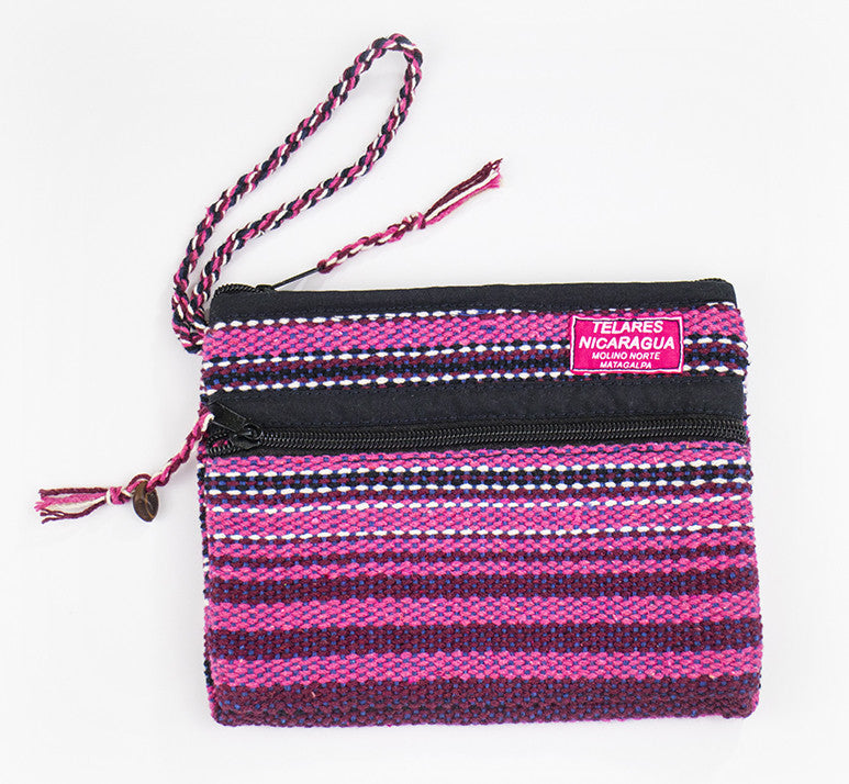 Small makeup bag - pink/purple