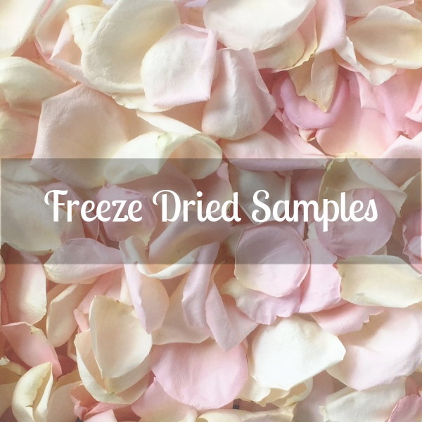 Rose Petals Sample, Freeze Dried, 2 cups