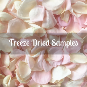 Rose Petals Sample, Freeze Dried