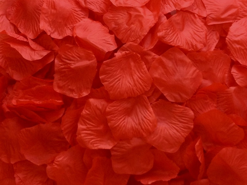 Red Aisle Rose Petals, 500 petals