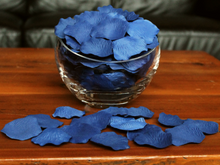 Load image into Gallery viewer, Blueberry Silk Rose Petals, 100 petals