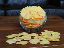Load image into Gallery viewer, Citrus Silk Rose Petals, 100 petals