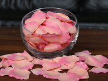 Load image into Gallery viewer, Coral Silk Rose Petals, Value Pack 1000 Petals