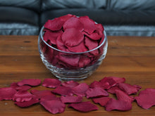 Load image into Gallery viewer, Crimson Silk Rose Petals, Value Pack 1000 Petals
