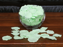 Load image into Gallery viewer, Honeydew Silk Rose Petals, 100 petals