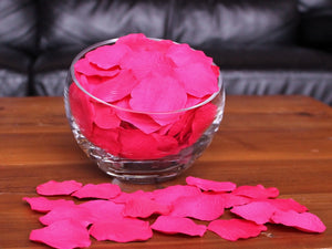 Punch Silk Rose Petals, 100 petals