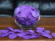 Load image into Gallery viewer, Purple Silk Rose Petals, Value Pack 1000 Petals