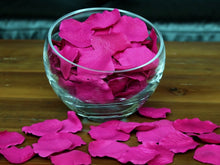 Load image into Gallery viewer, Raspberry Silk Rose Petals, 100 petals
