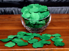 Load image into Gallery viewer, Shamrock Silk Rose Petals, 100 petals