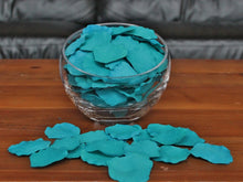 Load image into Gallery viewer, Turquoise Silk Rose Petals, 100 petals