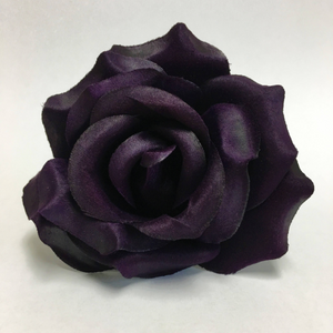 Silk Rose Heads, Artificial Flowers, 12 pieces