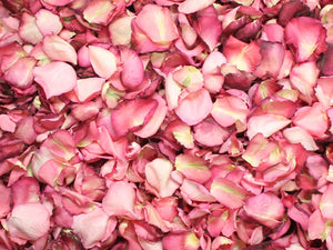 Rose Petals, Real Freeze Dried Pink Petals for Pathways, 70 cups