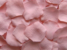 Load image into Gallery viewer, Blush Silk Rose Petals, 100 petals